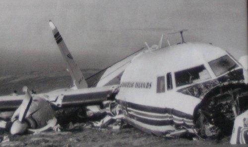 Flogvanlukka undir Knúki, Mykines 25.09.1970