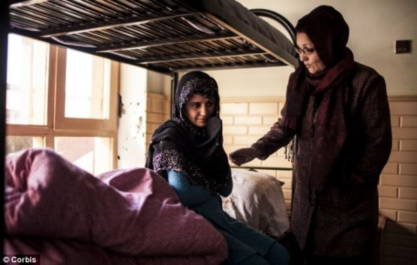 Gul has been taken in by a women's shelter in Afghanistan, where she arrived unable to feed herself