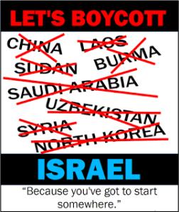 boycott list